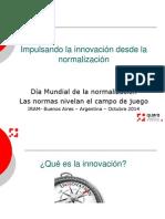 Impulsando La Innovacion Desde La Normalizacion Seminario