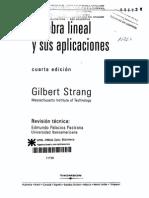 Algebra Lineal Strang