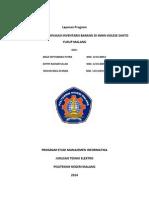 Sistem Informasi Inventaris Barang Di Smak Kolese Santo Yusup