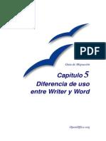 Writer y Office Diferencias