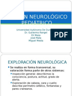 Examen Neurologico en Pediatria