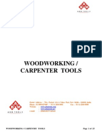 Woodworking Carpentry Tools