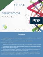 BONA, Aldo Nelson. Educação, Ética e Princípios Democráticos
