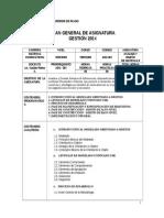 Planes General Analisis i i