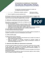 TEMA 8 Pasivos Financieros No Comerciales y Provisiones