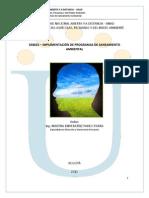 Modulo-implementacion Saneamiento Ambiental Correccion