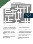 Occult Crossword Puzzle