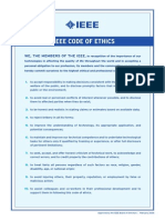 Four Codes of Ethics