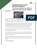 reporte 2-CAE EXPORTACIÓN DE AUTOS HECHOS EN MÉXICO.docx