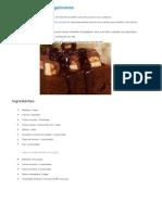 Torta de Chocolate y Golosinas