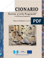 Diccionario Poqomchi' -Marcel Dobbels