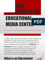 Roles and Functions of an Educational