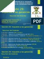 4-Sec 29 Impuesto Ganancias Resumen 20141006