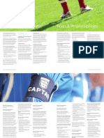 developing the football workforce - roles & responsibilities photocopy