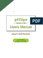 Gff2ps - User Manual