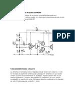 Proyecto Amplificador de Audio Con LM741