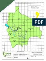 Mapa de Poliductos Bolivia