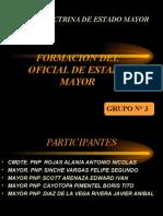 Formacion Del Oficial de Estado Mayor