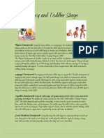 ece 497 infancy and toddler stage