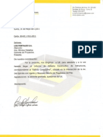 Informe de Sistema Constructivo de Estructuras