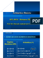 USP Aula 9 - Aritmetica Binaria
