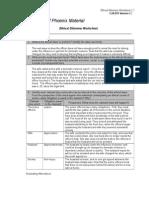 Week 2 Ethical Worksheet