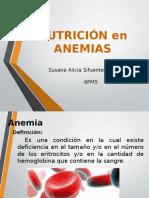 Nutrición en Anemias