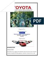 Toyota Case Study Write Up
