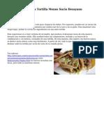 Hacer una Pequena Tortilla Menos Sucio Desayuno TacosA�