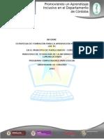 Informe de Procesos de Formación CPE_ Secretaría de Educación Pueblo Nuevo