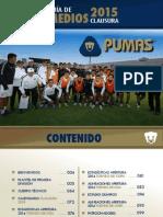 Guia de Medios Pumas 2015