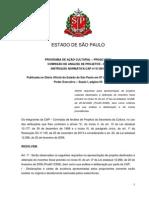 Legislação_ProAC ICMS_Instrução Normativa CAP Nº 01-2013