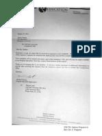 CIE FM Santoro Response to CIE Exec Dir.