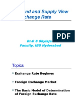 Demand and Supply View of Exchange Rate-new