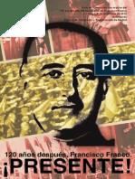 Boletin Nro 127-Fundación Fco Franco en su 120 Aniversario de su natalicio