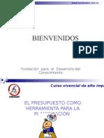 Manual Planificación Presupuesto