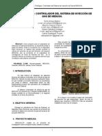 Controlador Sistema Inyección de GAS (Paper)