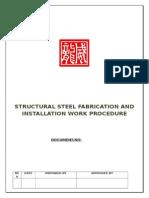 Structural Steel Procedure.