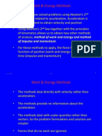 3 - Kinetics of Particle - Work & Energy