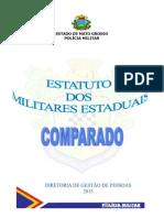 Estatuto Dos Militares Estaduais Comparado