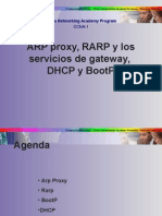 CCNA 1 Arp Arp Proxy Bootp Dhcp