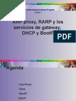 CCNA 1 Arp Arp Proxy Bootp Dhcp