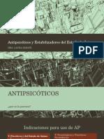 Antipsicóticos y Estabilizadores Del Estado de Ánimo