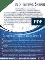 Objetivos Grupo 3 - Sociales