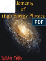 Elements of High Energy Physics