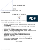 Guía de Clases Medios de Comunicación