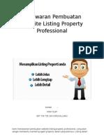 Penawaran Website Listing Properti
