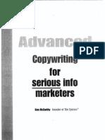 Advanced Copywriting
