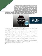 Cara Mengatasi Bootloop