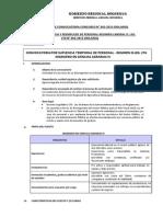 Proceso de Convocatoria Concurso Nº 002-2015-Dra.moq